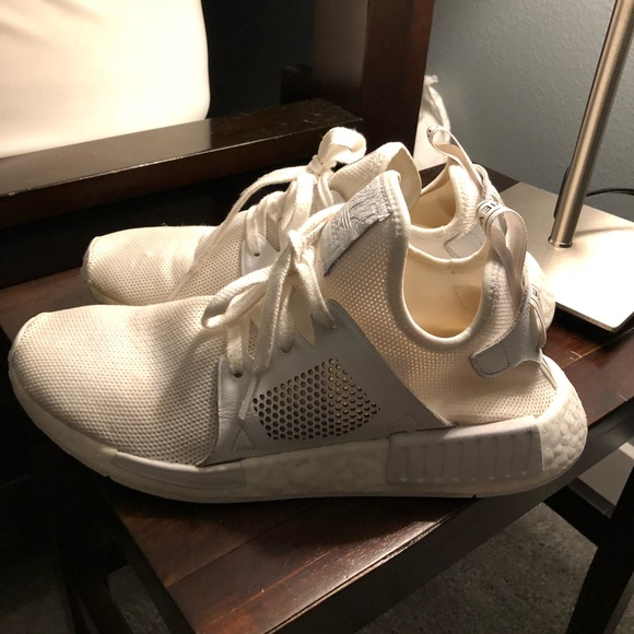52a8846f0 Adidas NMD XR1 sz 8 white.